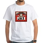 Vintage JAX Beer White T-Shirt