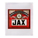 Vintage JAX Beer Throw Blanket