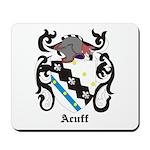 Acuff Coat of Arms Mousepad