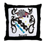 Acuff Coat of Arms Throw Pillow