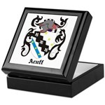Acuff Coat of Arms Keepsake Box