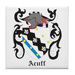 Acuff Coat of Arms Tile Coaster