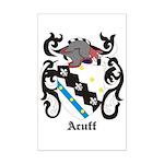 Acuff Coat of Arms Mini Poster Print