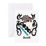 Acuff Coat of Arms Greeting Cards (Pk of 10)