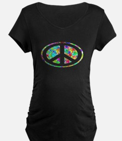Peace Groovy Floral T-Shirt
