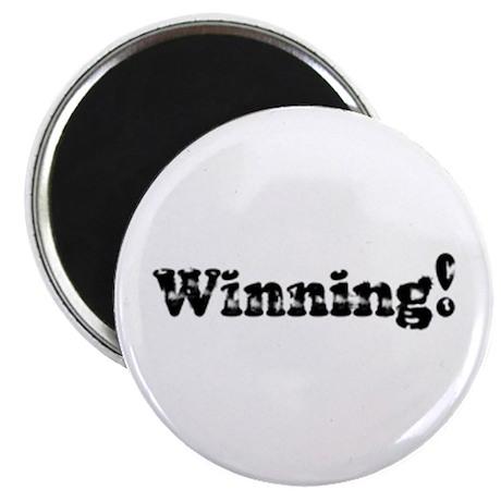 """Vintage Winning! 2.25"""" Magnet (10 pack)"""