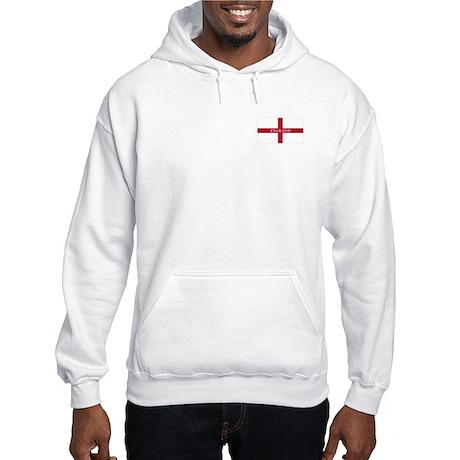 St. George's Cross Hooded Sweatshirt