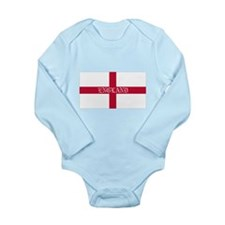 St. George's Cross Long Sleeve Infant Bodysuit
