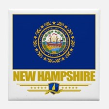 New Hampshire Pride Tile Coaster