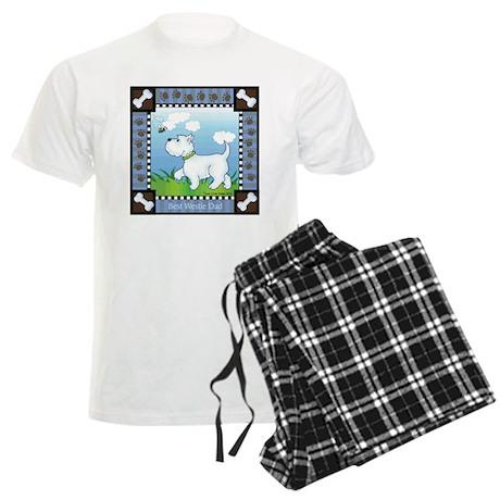 Best Westie Dad Men's Light Pajamas