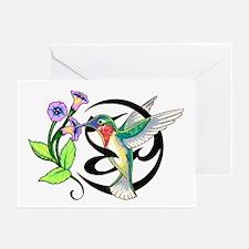 Hummingbird Tribal Greeting Cards (Pk of 10)