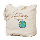 Plastic sucks Canvas Totes