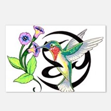 Hummingbird Tribal Postcards (Package of 8)