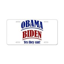 Yes They Can! Aluminum License Plate