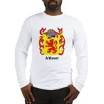 A'Court Coat of Arms Long Sleeve T-Shirt