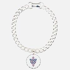 Funny Swingers Charm Bracelet, One Charm
