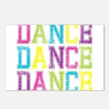 Unique Dance Postcards (Package of 8)