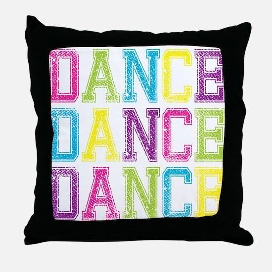 Cool Jazz dance Throw Pillow