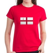 St. George's Cross Women's T-Shirt (Dark)