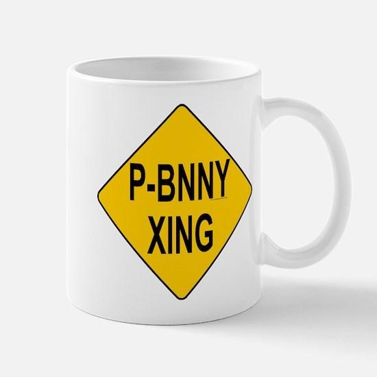 P-Bnny Xing Mug