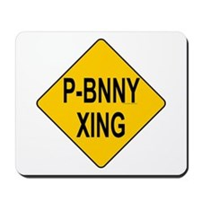 P-Bnny Xing Mousepad