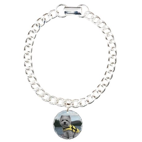 Truman at the Lake Charm Bracelet, One Charm