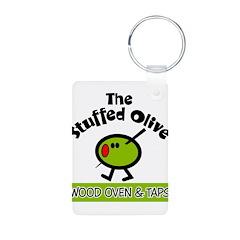 Stuffed Olive Keychains
