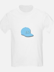 Eli's Baseball Cap Kids T-Shirt