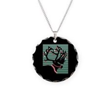 Reindeer Silhouette Necklace