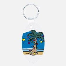 Holiday Palm Keychains