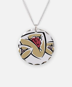 Hamantashen Necklace