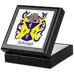 Ackroyd Coat of Arms Keepsake Box