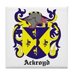 Ackroyd Coat of Arms Tile Coaster