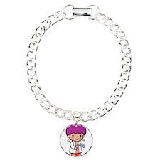 Future Chemist Charm Bracelet, One Charm