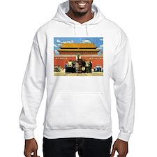 Tiki in Tiananmen Hoodie