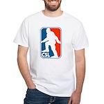 Cascadian Stomper League White T-Shirt