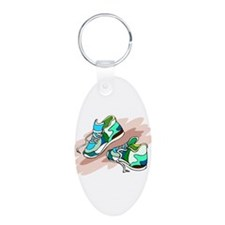Running Shoes Keychains