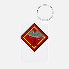 Rat with Symbol Keychains