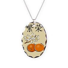 Prosperity Orange Necklace