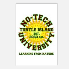 No-Tech University Postcards (Package of 8)
