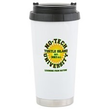 No-Tech University Travel Coffee Mug