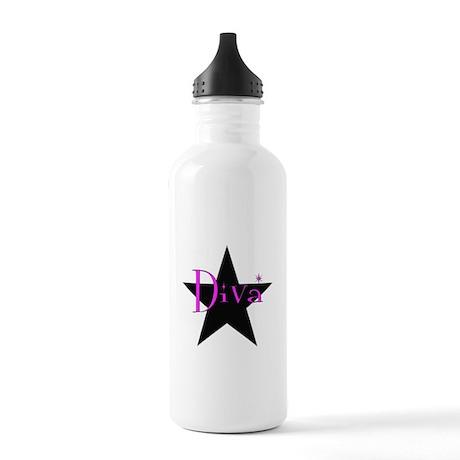 Black Star Diva Stainless Water Bottle 1.0L