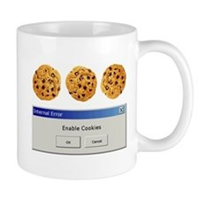 Enable Cookies Small Mug