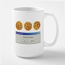 Enable Cookies Ceramic Mugs