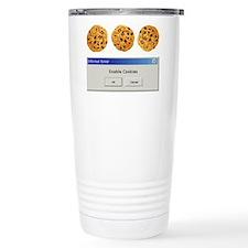 Enable Cookies Thermos Mug