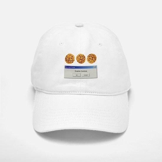 Enable Cookies Baseball Baseball Cap