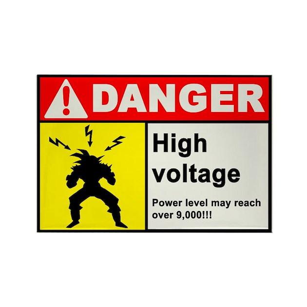 High Voltage Magnet by GeekWorldRadio