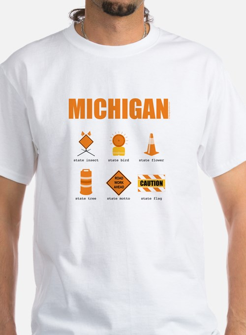 Michigan Symbols Shirt