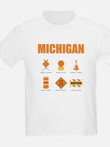 Michigan Symbols T-Shirt