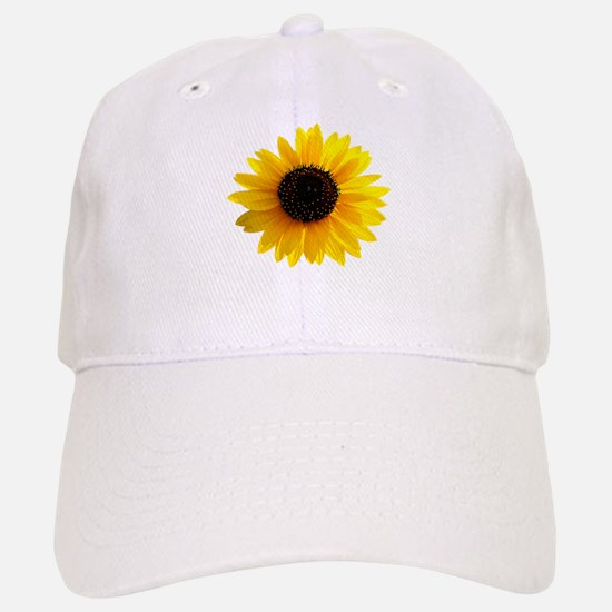 Golden sunflower Baseball Baseball Cap